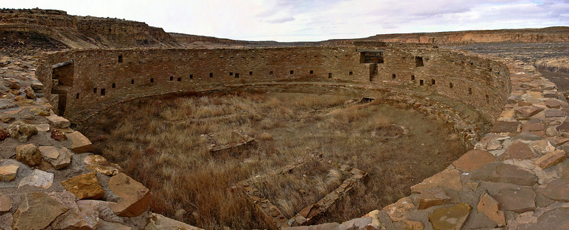 Chaco Canyon Cultural NHP (Best Viewed at X3)