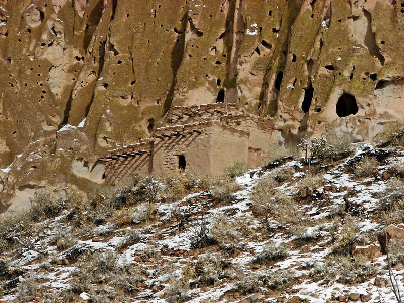 Bandolier NM - Reconstructed Pueblo