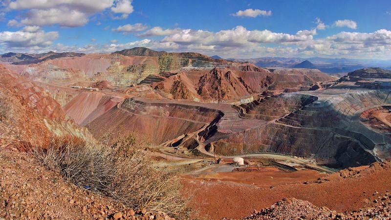 Phelps Dodge Copper Mine, Morency