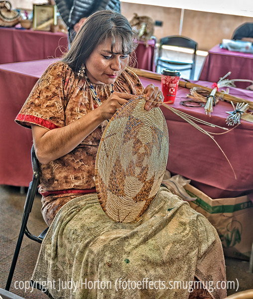 Native American Basketmaker