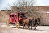 Stagecoach at Old Town Tucson