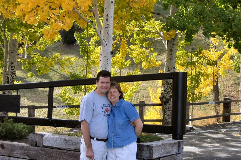 Sue and Dan at Ski Valley
