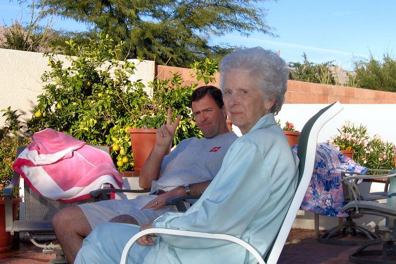 Dan and Mom