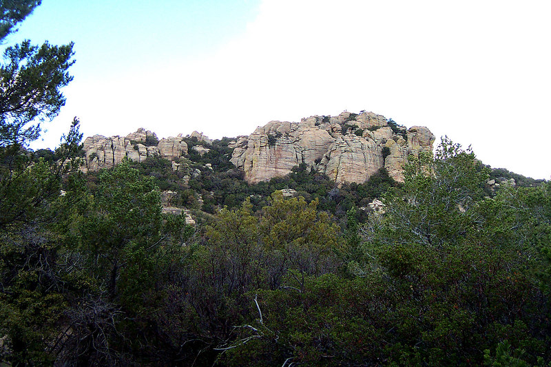 Our first good view of Tanque Verde Peak, almost there.