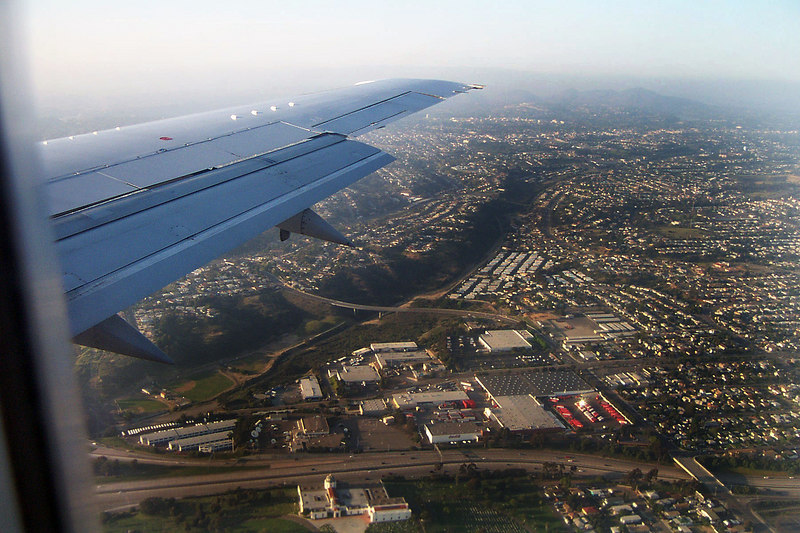 About to land in San Diego, great trip. Now I just have to drive back to Pasadena. <br /> <br /> THE END