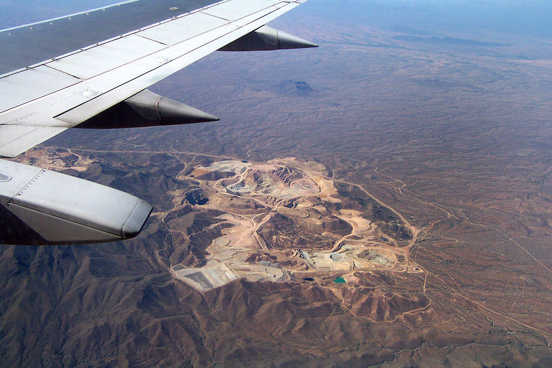 We saw this copper mine as we neared Tucson.