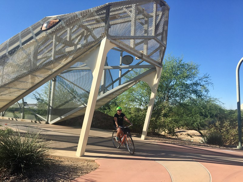 Tucson Bike Tour<br /> Rattlesnake Bridge
