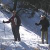 Nan Herb in snow