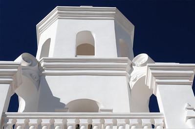San Xavier del Bac, Tucson, Arizona.