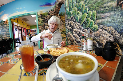 Rosa's, our new favorite restaurant in Tucson. Rosa's soups are the best!