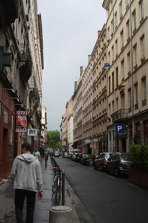Tuesday 26 May, Lyon