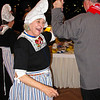 Local entertainers in Volendam dressed Roberta & Jim in Dutch costume.