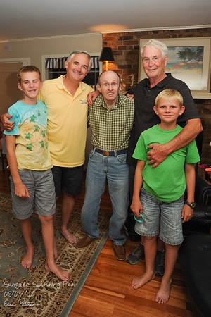 Evan, Eric, Robert Chris, Liam