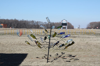 Bottle ART at The Catfish Warehouse, Highway 61, Tunica, Mississippi