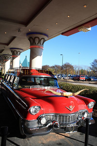 In front of The Horseshoe Casino, Tunica, Mississippi