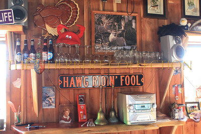 The bar at The Catfish Warehouse, Highway 61, Tunica, Mississippi