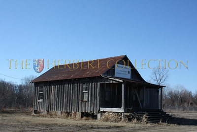An old house or juke joint. Tunica, Mississippi