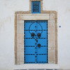 Typical door in Sidi Bou Saïd.