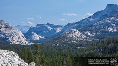 View looking North East toward Tuolumne Meadows from Olmstead Point - Yosemite National Park. Sunday, Aug 12, 2012. Canon 5D Mark II, 1/200 sec at f/11, ISO 100, 70mm. (EF70-200mm f/2.8L IS II USM Lens).