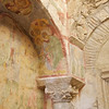 Column, Capital and Frescoed Wall, Church of St. Nicholas, Demre (Myra)
