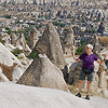 Susie in the Göreme Valley, Cappadocia