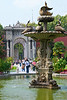 Swan Fountain and Inner Gateway, Dolmabahçe Sarayl (Palace), Istanbul