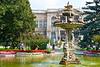 Swan Fountain and Imperial Garden, Dolmabahçe Sarayl, Istanbul
