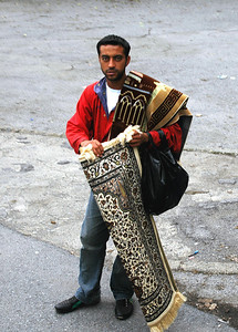 Turkish Rug Seller