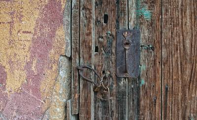 Door, Uchisar, Cappadocia region, Turkey