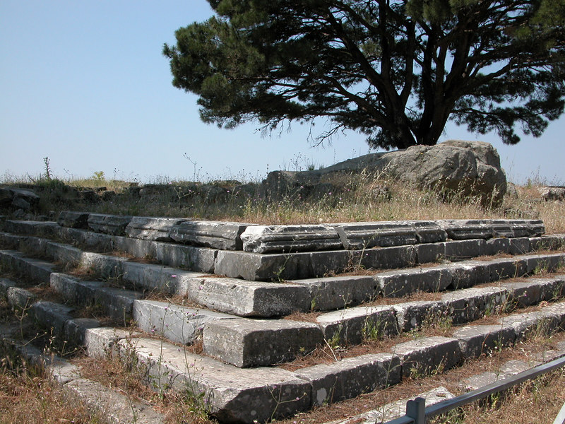 former location of Zeus altar