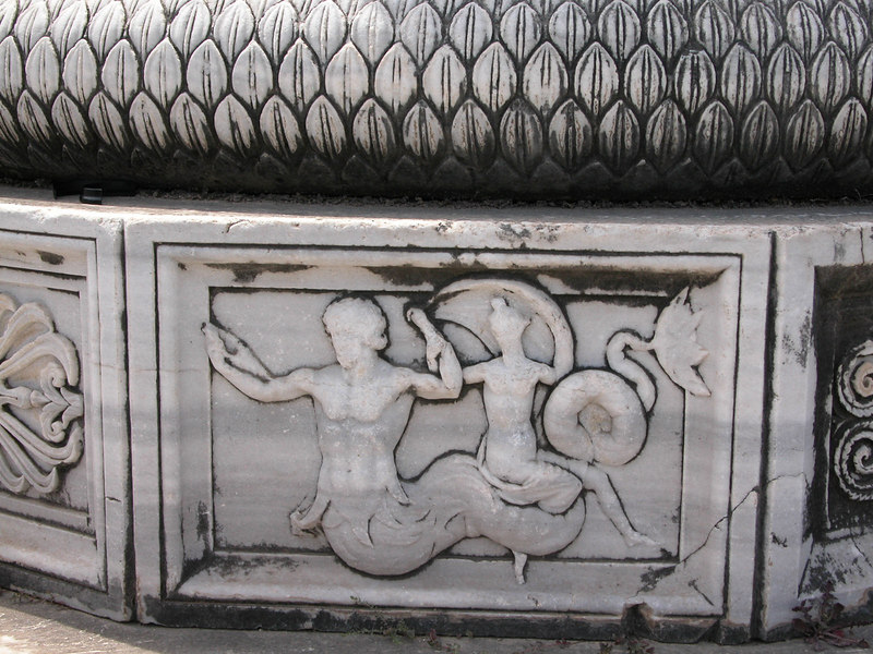 Decorated Column Bases