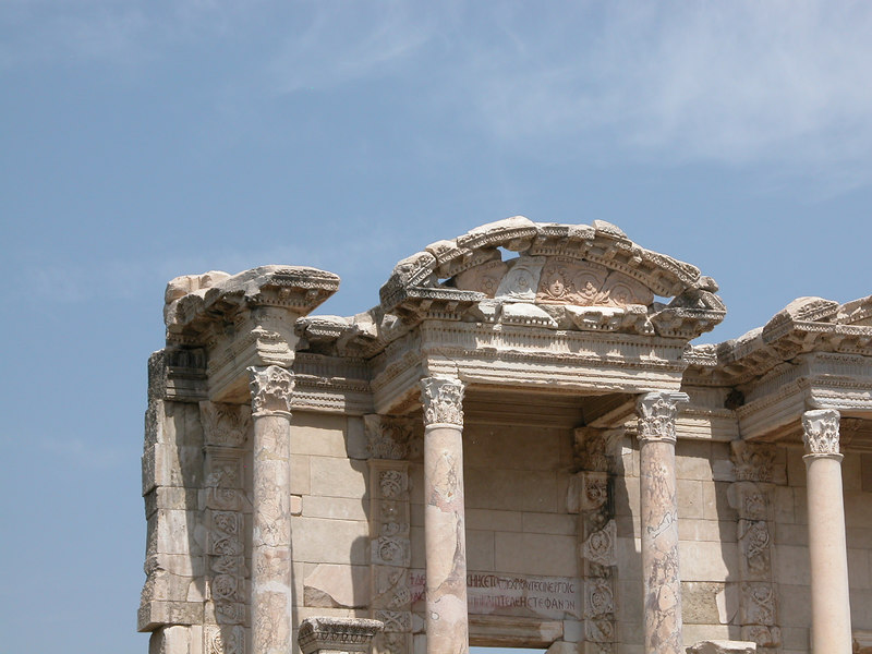 Library of Celsus facade