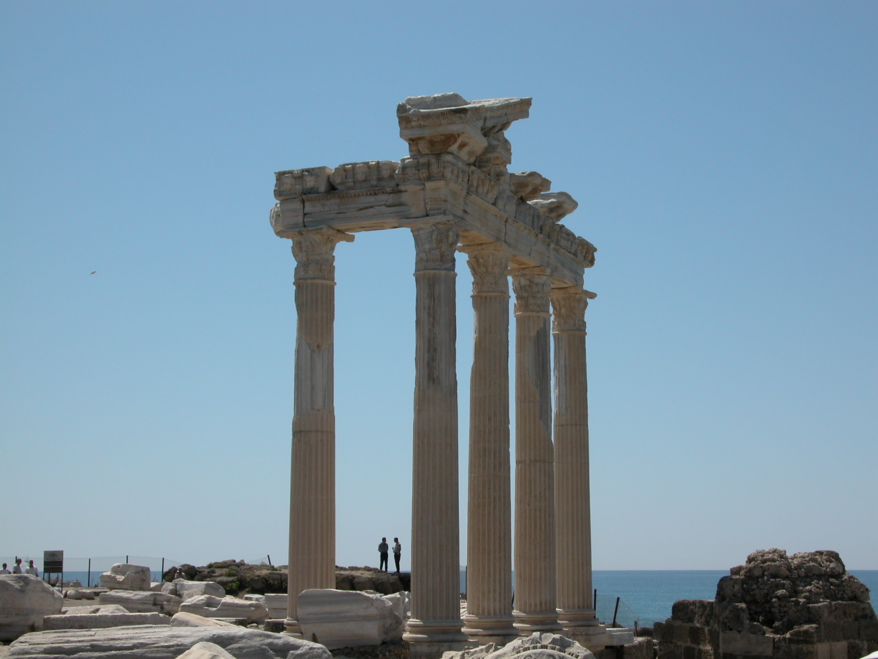 remains of Temple Of Apollo