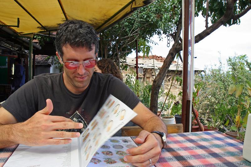 Cafe in Sirince, Turkey