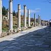 Column lined Ephesian street