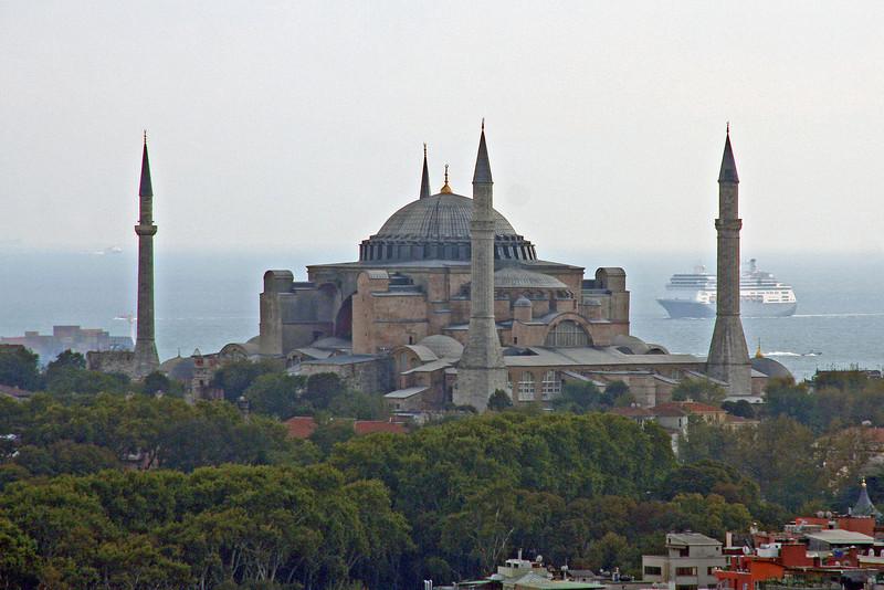 The Hagia Sophia (Aya Sofya)