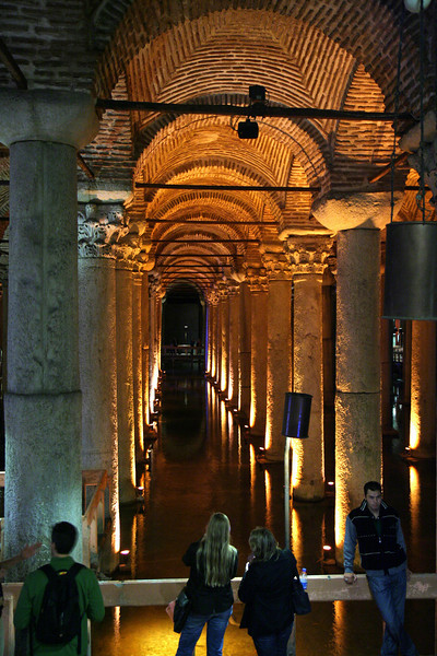 Underground Cisterns built by Justinian (c.532 AD)