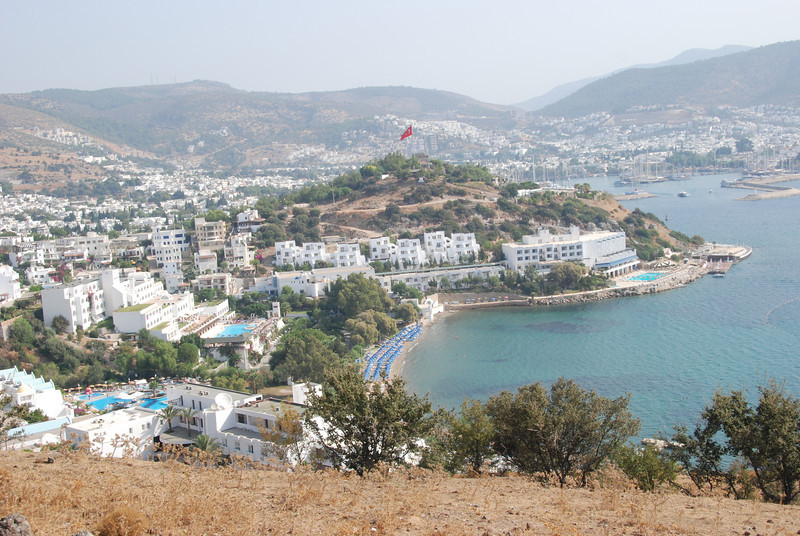 We started our trip in Turkey in the town of Bodrum, a short ferry ride from Kos, in Greece, where we had been kayaking.