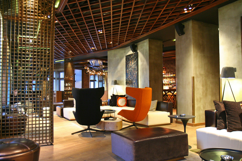 Lounge at the W Istanbul