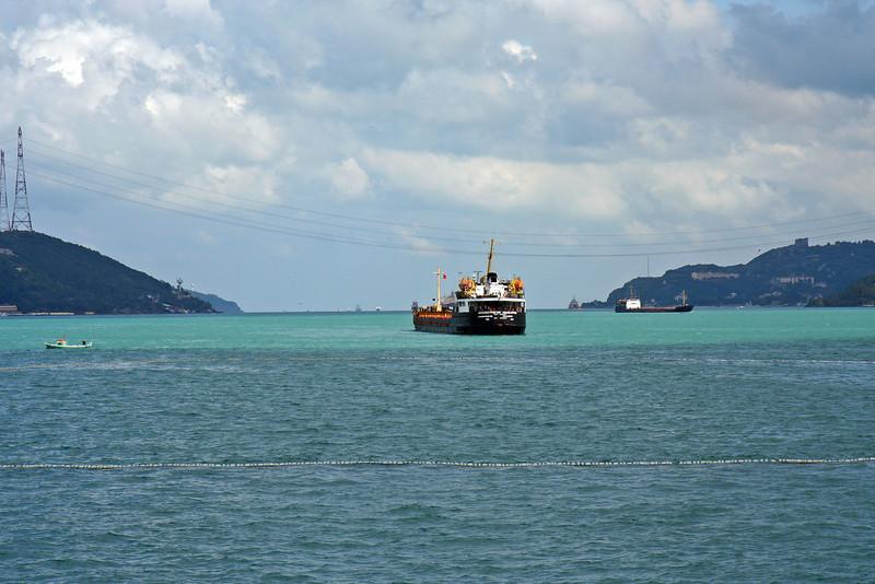 Point where Bosphorus enters the Black Sea