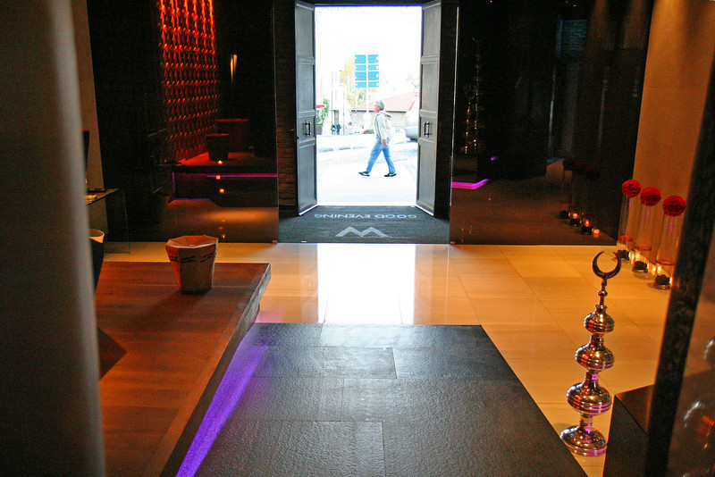 Lobby at the W Istanbul