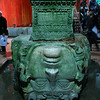 Medussa head in Cisterns (plundered from ancient temple)