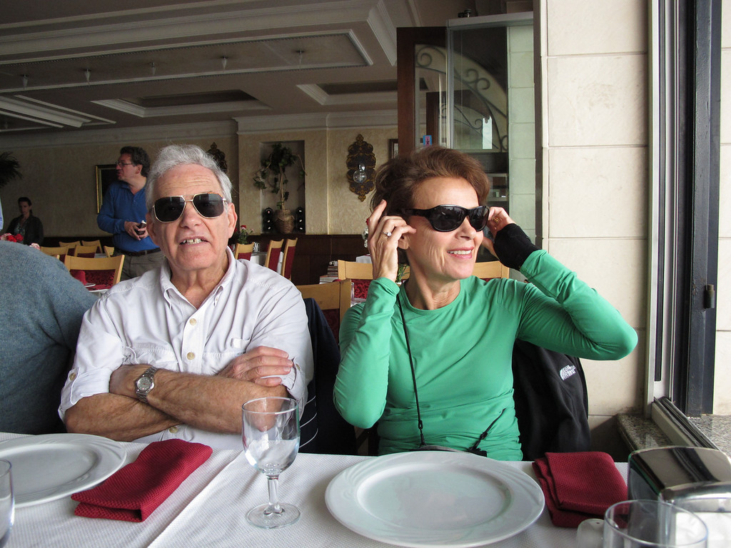 Joy & Ira at Lunch