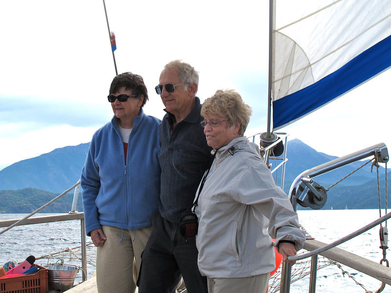 Judy, Keith, and Marcia