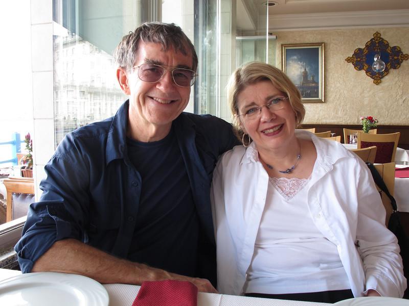 Beth & John at Lunch