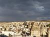 "Cappadocia - <a href=""http://en.wikipedia.org/wiki/Cappadocia"">http://en.wikipedia.org/wiki/Cappadocia</a>"