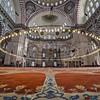 18080427-The-Suleymaniye-Mosque-was-built-on-the-order-of-Sultan-S-leyman-S-leyman-the-Magnificent-was-fortun-Stock-Photo