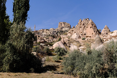 The town of Uchisar.