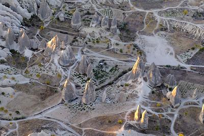 Hot Air Ballooning over Cappadocia, Turkey.