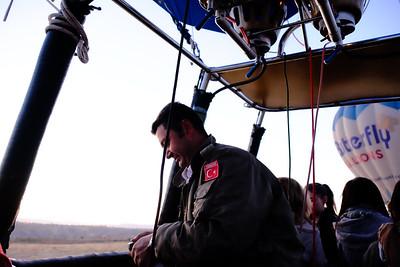 Our pilot, Kaan.